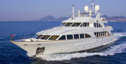 120' Benetti Yacht in La Paz for Charter
